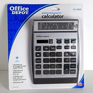 Office Depot(R) KS-3000 12-Digit Calculator