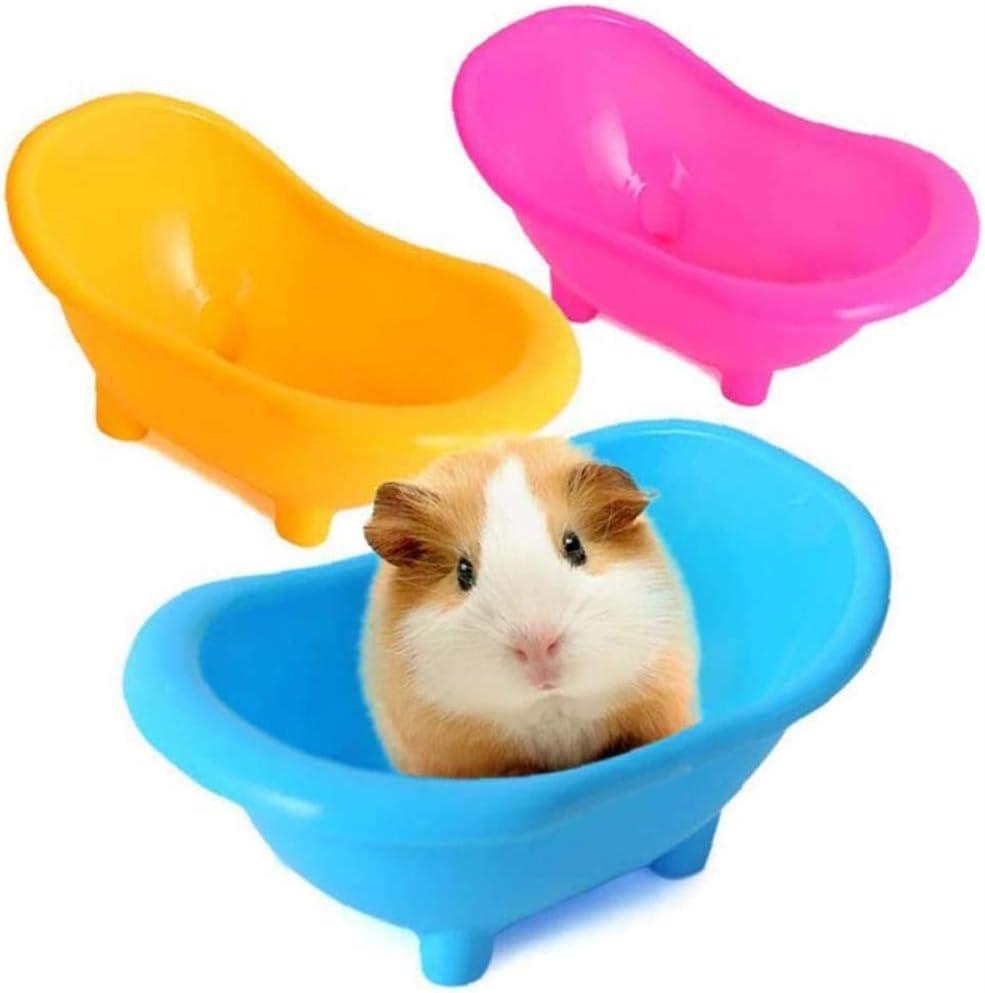 NXL Bathroom Bathing Case Mini Hamster Gerbils Bathtub Small