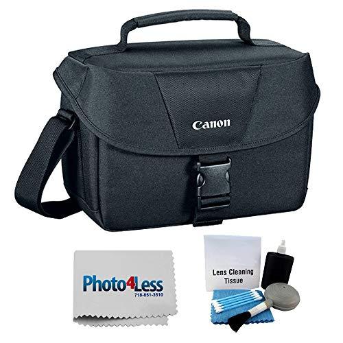 Canon Genuine Padded Starter Digital SLR Camera Lens Case Gadget EOS Shoulder Bag For T3 T3i T4i T5 T5i T6s T6i SL1 70D 60D 50D 7D 6D + Photo4less Cle