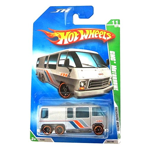 - Hot Wheels 2009-11 Treasure Hunts GMC MOTORHOME 1:64 Scale