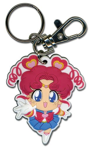 Chibi Pvc Keychain (Great Eastern Entertainment Sailor Moon - Chibi Chibi Moon PVC Keychain)