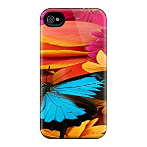 Hard Plastic Iphone 4/4s Case Back Cover,hot Butterfly Case At Perfect Diy
