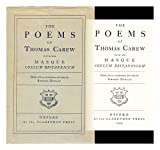 Poems of Thomas Carew, Carew, Thomas, 019811804X