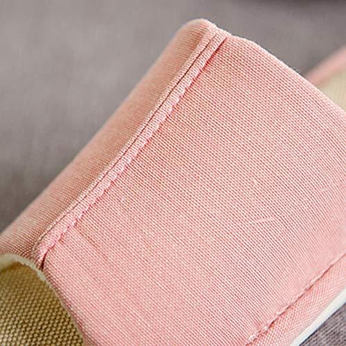 Plancher Accueil Td Style Hiver De couleur 37 Automne En Pantoufles Japonais 35 Taille Et Bleu Femmes Hommes Pink Coton Printemps Ouverture 1rWw7vnrq