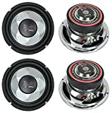 4) New PYRAMID PW677X 1200W 6' Car Audio Subs/Subwoofers Power Woofers Stereo