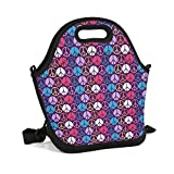 rrr Lunch Bag Large Space Durable Friendly Tote Tote Warm Package (Peace Sign Logo)