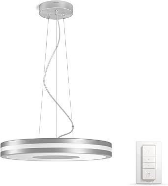 Philips Hue Being Lámpara Colgante Inteligente con Mando, Luz Blanca Cálida a Fría, Compatible con Alexa y Google Home: Amazon.es: Iluminación