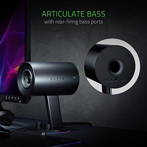 Razer Nommo Chroma - Computer Speakers, Rear Bass Ports for Full Range Gaming & Sound Immersion - Custom Woven Glass Fiber 3'' Drivers by Razer (Image #3)