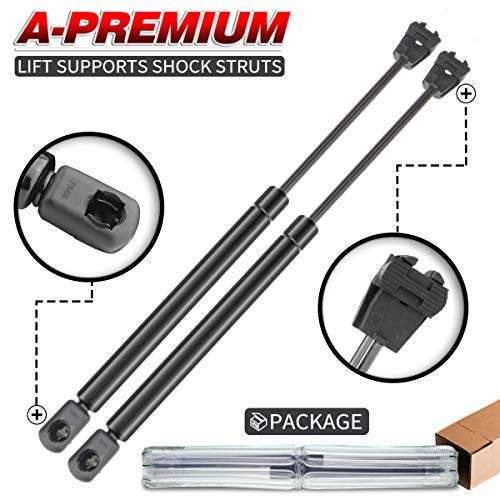 A-Preimum Hood Lift Supports Shock Struts for Chrysler 300 Dodge Charger Magnum 2005-2010 Sedan Only 2-PC Set