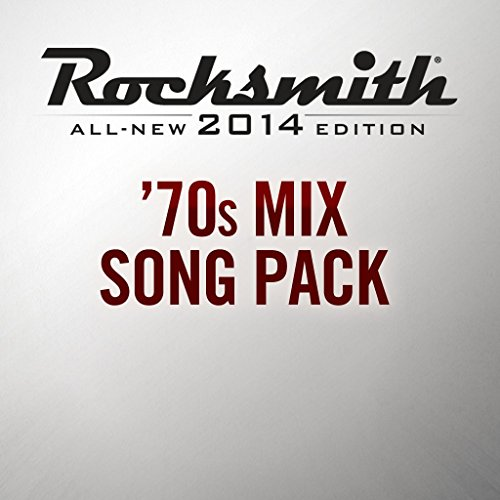 Rocksmith 2014 - 70's Mix Song Pack - PS4 [Digital Code]