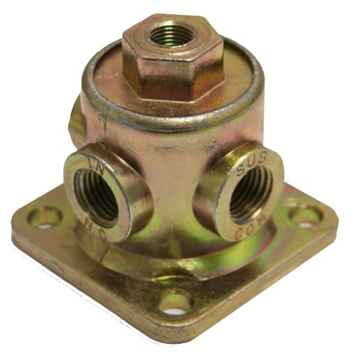 One Neway Style Pilot Valve # 900554615 w/ 3 Outlets Tractor Trailers -  GPD, 90554615