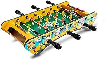 YUHT Futbolín Infantil,Mesa de futbolín, Juegos de Mesa de futbolín Mini Juegos de Mesa de futbolín portátiles para Adultos y niños - fútbol de Mano recreativo, 49 * 24 * 10 cm: