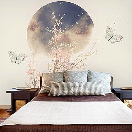 HUANGYAHUI murale Il Nuovo Inchiostro Cinese Lotus Wallpaper Camera ...