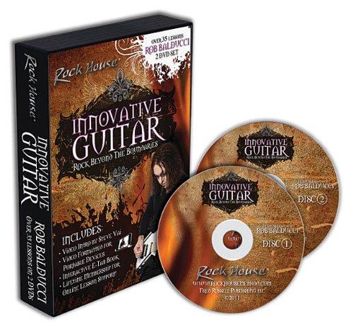 Rob Balducci - Innovative Guitar - Rock Beyond The Boundaries 2-Dvd Set ()
