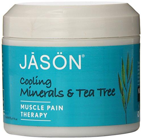 Джейсон чайного дерева Минеральные Охлаждение и обезболивающее гель, 4 унции ванна