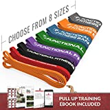 Rubberbanditz Pull Up Assistance Resistance Exercise Bands – by Functional Fitness | Loop Workout Bands for Stretching, Powerlifting