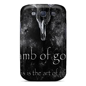 High Quality Hard Phone Case For Samsung Galaxy S3 (wyv6609Yexx) Unique Design Nice Lamb Of God Pattern