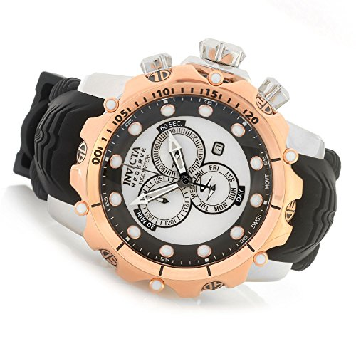 Invicta Dragon - Invicta Reserve 52mm Venom Sea Dragon Gen II Swiss Quartz Chronograph Silicone Strap Watch (20407)