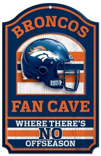 Craft Pro Hat - NFL Denver Broncos 05426010 Wood Sign, 11