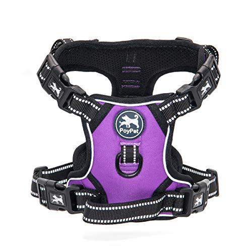 xs dog harness purple - 9