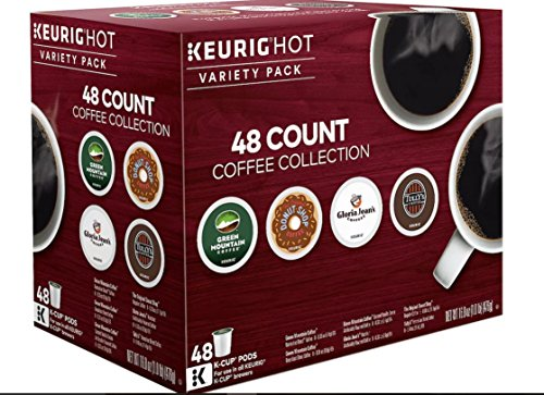 KEURIG Variety Pack Collection K Cups 48 Count (Variety Shop Pack)