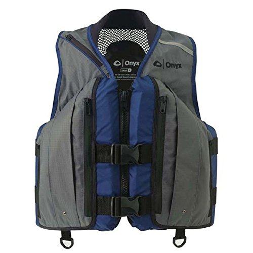 AMRA-9674-3691* Onyx Deluxe Mesh Fishing Vest - Large 40