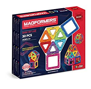 Magformers - Set de 30 piezas magnéticas (701005)