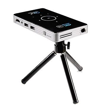 Proyector de Bolsillo 4k DLP Mini proyector Android Quad Core ...