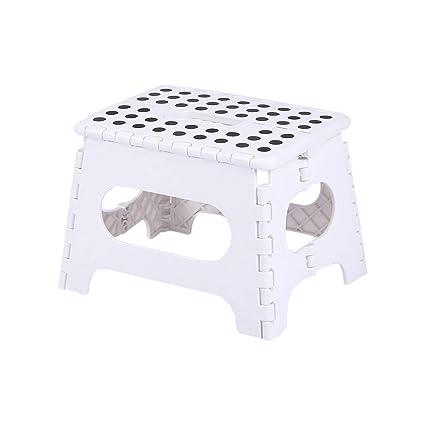 Strange Amazon Com Loprt Folding Stool Portable Foldable Step Stool Ncnpc Chair Design For Home Ncnpcorg