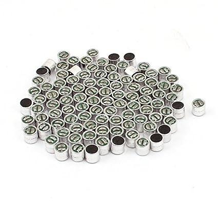 Amazon.com: eDealMax 100 PC DE 6 mm x 5 mm Pickup SMD MIC Electret Micrófono condensador: Electronics