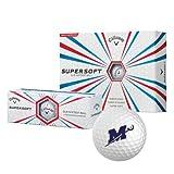 Millsaps Callaway Supersoft Golf Balls 12/pkg 'Official Logo'