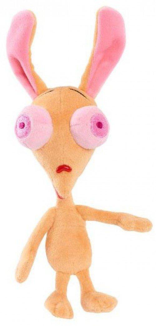 Nick 90s Ren and Stimpy Bean 8 inch Stuffed Figure ‑ Ren Just Play SG/_B078HH5WCH/_US