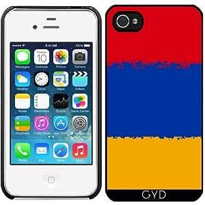 Funda para Iphone 4/4S - Armenia- 8 Bits Bandera by Cadellin