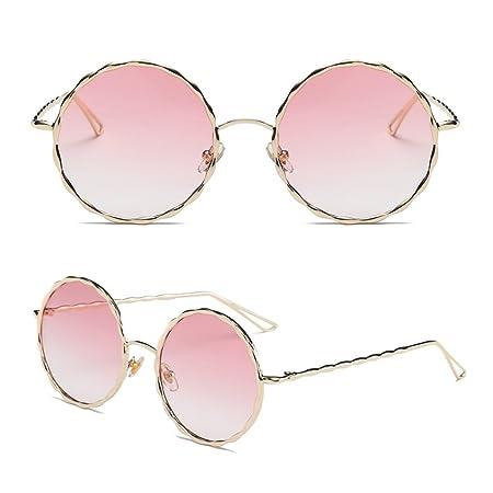 Skylive uomini donne occhiali da sole rotondi Steampunk Shades retro occhiali sport outdoor occhiali, Uomo donna, Grey, M