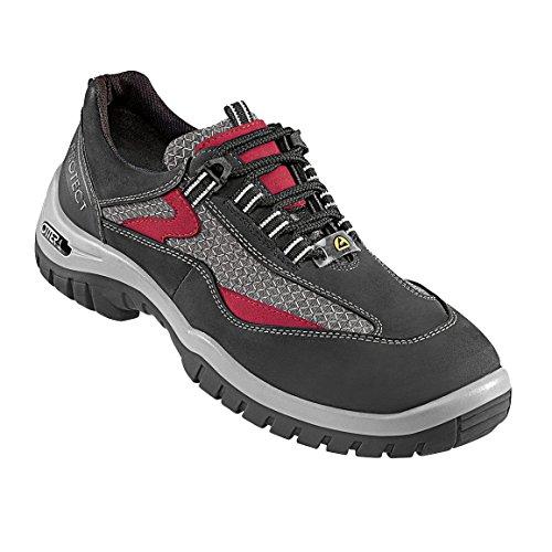 Premium 326 Hro Chaussure Otter Rouge de 39 S2 71003 Protect 39 Sécurité Taille Gris Noir z5Azwtq