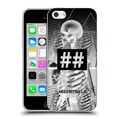 Official Been Trill Human Skeleton 1 3D Scans Soft Gel Case for Apple iPhone 5c