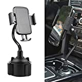 Car Cup Holder Phone Mount,Universal Adjustable Cup Holder Cradle Car Mount for iPhone Xs/Max/X/XR/8/8 Plus,Samsung Note 9/ S10+/ S9/ S9+/ S8