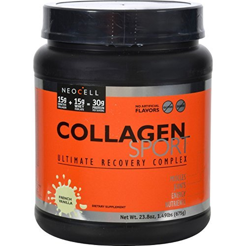 NeoCell Collagen Sport Whey Isolate Complex French Vanilla - 1.49 lbs