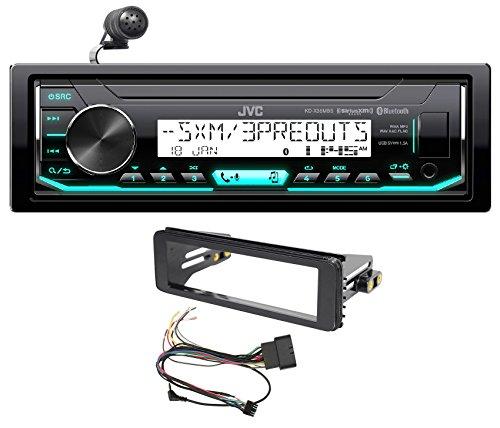 (1998-2013 Harley Davidson FLHT FLHTC JVC Bluetooth Receiver Stereo Upgrade Kit)