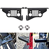 Jeep Wrangler Foot Pegs- Foot Rest Kick Panel for 2007-2018 Jeep Wrangler JK & Unlimited JL
