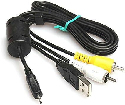 Audio Video AV Cable por Keple para Nikon Coolpix: S7000/ S3600 ...