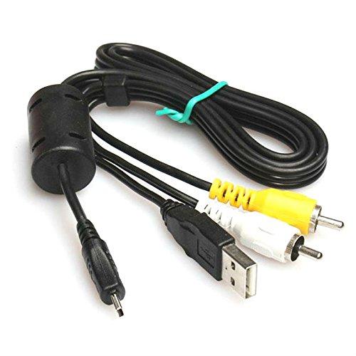 Keple | USB UC-E6 AV Audio Video Cable Lead Cord for Olympus C Series: C-25 / C-520 / C-530 / C-540 / C-550 / C-560 / C-570 / (540 Series Lens)