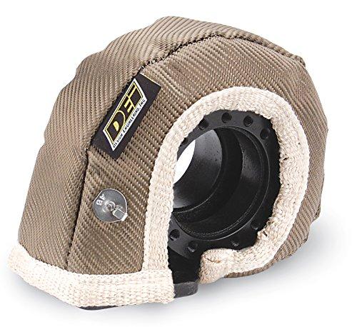 DEI 010146 T6 Titanium Turbo Shield - Custom Fit Turbo Blanket, 26'' x 3.75'' by Design Engineering