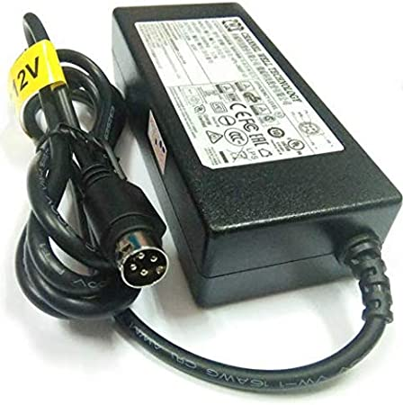 Hikvision 4 Pin 12V 5A Power Supply//Transformer Compatible with TVI DVR/…