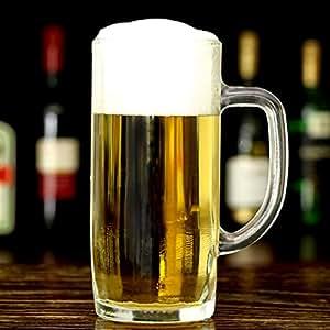 Ciudad de cristal Cerveza Tankard 13,4 oz / 380 ml - Envase de 4