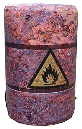 MP - Litera hinchable con forma de barril de aceite: Amazon ...