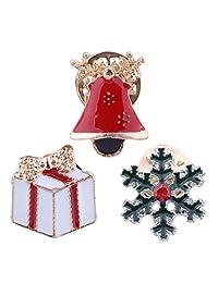 Solememo Christmas Brooch