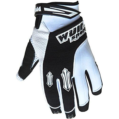 Red M 57-58cm Wulfsport Adult Sceptre Motorbike Helmet /& Wulf Adult Motocross Goggles /& Gloves
