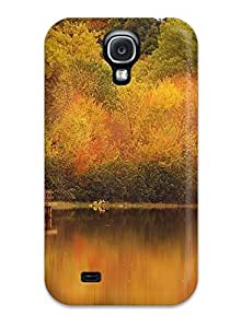 Tpu Shockproof/dirt-proof Autumn Earth Nature Autumn Cover Case For Galaxy(s4)
