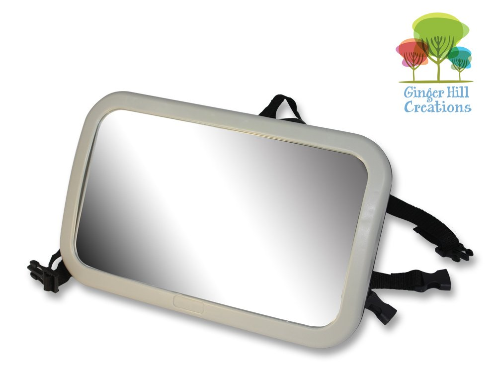 Back Seat Mirror: Mr. Peekatmee Backseat Baby Safety Mirror Ginger Hill Creations GHC-1007